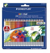 Set 144 50NC24 pencils 24 colour erasable Staedtler Norris Club