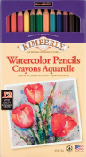 General's Kimberly Watercolour Pencil Set, 12 Assorted Watercolour Pencils