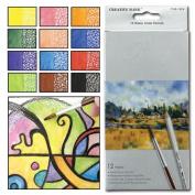 Raffiné Watercolour Pencils Set of 12 - Assorted Colours