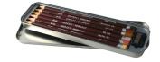 Derwent Colorsoft Skintone Pencils, 4mm Core, Metal Tin, 6 Count