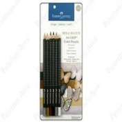 Faber-Castell Mix & Match Art Grip Colour Pencils 6/Pkg Neutral