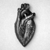 Graphite Heart by Agelio Batle
