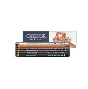 Cretacolor Oil Pencils- Set of 6 in a Reusable Tin