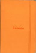 Rhodia Orange Webnotebook 3.5X5.5 Dot Grid
