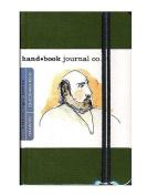 Hand Book Journal Co. Travelogue Drawing Journals 8.9cm . x 14cm . portrait cadmium green [PACK OF 2 ]