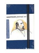 Hand Book Journal Co. Travelogue Drawing Journals 8.9cm . x 14cm . portrait ultramarine blue [PACK OF 2 ]