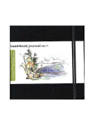 Hand Book Journal Co. Travelogue Drawing Journals 14cm . x 14cm . square ivory black [PACK OF 2 ]
