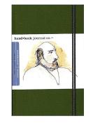 Hand Book Journal Co. Travelogue Drawing Journals 14cm . x 21cm . landscape cadmium green [PACK OF 2 ]