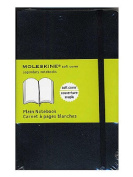 Moleskine Classic Soft Cover Notebooks blank 8.9cm . x 14cm . 192 pages [PACK OF 3 ]
