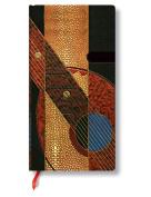 Paperblanks Literary Art Deco Journals Serenade Slim, 8.9cm . x 18cm . 176 pages, unlined
