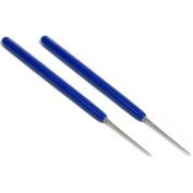 2 Beading Awls Bead Knotting Hand Tool w/PVC Grip