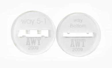 Way 5 Bracelet Discs 5.1cm