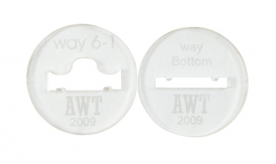 Way 6 Bracelet Discs 5.1cm