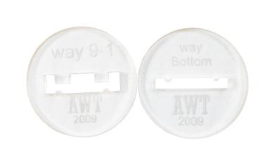 Way 9 Bracelet Discs 5.1cm