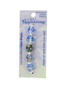 Monet's Garden glass beads