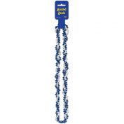Braided Beads (blue & white) Party Accessory (1 count)