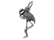 Sterling Silver Flamingo Charm