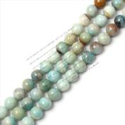 """20mm Round Amazonite Stone Gemstone Beads Strand 15""""jewellery making beads"""
