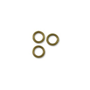 Jump Ring - Closed 6mm Antique Brass Plated