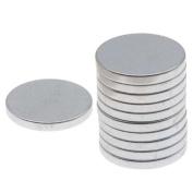 Craft Hobby Neodymium Rare Earth Super Magnets 1/2 x 1/16 in. (12x1.5mm)