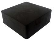 Jeweller's Solid Rubber Bench Block - 5.1cm - 1.3cm x 5.1cm - 1.3cm
