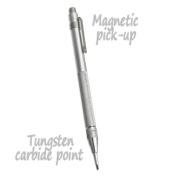 Tungsten Carbide Scriber Engraver Pen - Magnetic Pick-Up Cap