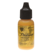 Vintaj Patina Opaque Permanent Ink - Yellow Ochre - 15ml Bottle