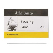 John James English Beading Needles Size 11 - Pack of 25