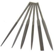 6 #2 Needle Files Metal Filing Jewellery Making Tools