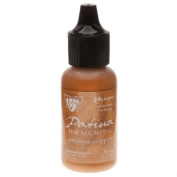 Vintaj Patina Opaque Permanent Ink - Antiqued Copper - 15ml Bottle