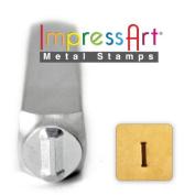 ImpressArt- 6mm, Iota Greek Letter Stamp