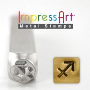ImpressArt- 6mm, Sagittarius Metal Stamp