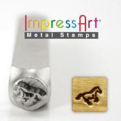 ImpressArt- 6mm, Galloping Horse Metal Stamp