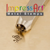 ImpressArt- 6mm, Mikey Stick Figure Design Stamp