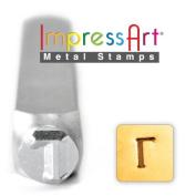 ImpressArt- 6mm, Gamma Greek Letter Stamp