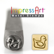 ImpressArt- 6mm, Rubber Ducky Design Stamp