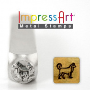 ImpressArt- 6mm, Siberian Husky Metal Stamp