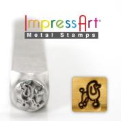 ImpressArt- 6mm, Poodle Metal Stamp
