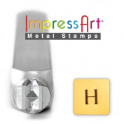 ImpressArt- 6mm, Eta Greek Letter Stamp