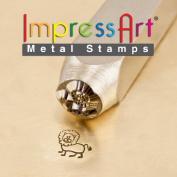 ImpressArt- 6mm, Leo Design Stamp