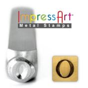 ImpressArt- 6mm, Omicron Greek Letter Stamp