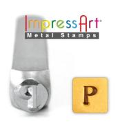 ImpressArt- 6mm, Rho Greek Letter Stamp