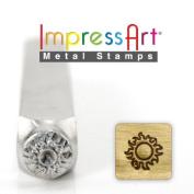 ImpressArt- 6mm, Sun Design Stamp