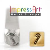 ImpressArt- 6mm, Candy Cane Design Stamp