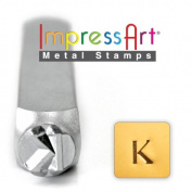 ImpressArt- 6mm, Kappa Greek Letter Stamp