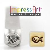 ImpressArt- 6mm, Fishy Metal Stamp
