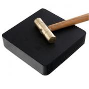 Jeweller's Solid Rubber Bench Block - 10cm x 10cm