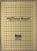 BeadSmith Mini Macrame Board For Braiding 23cm x 15cm