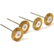 4 Brass Wire Wheel Brushes Polishing Tools fits For For For For For For For For Dremel