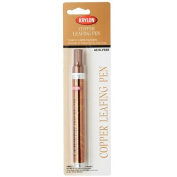 Krylon Acid-Free Leafing Pen - For Metallic Highlights - Copper